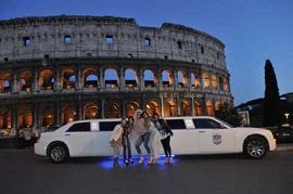 Bachelor & Bachelorette party limousine in Rome